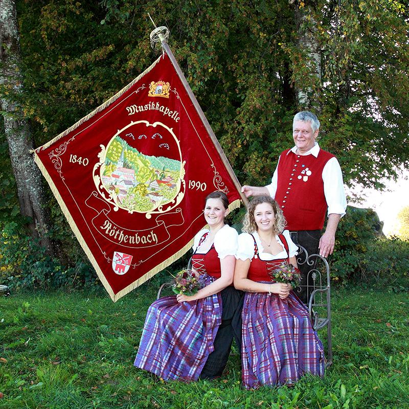 Bezirksmusikfest Festtag und Festumzug